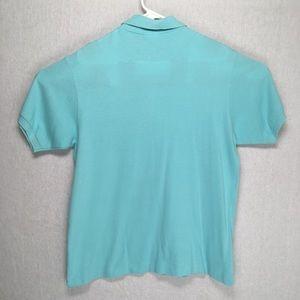 Lacoste Shirts - Lacoste mens short sleeve polo shirt green medium